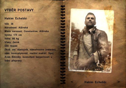 Postavy - Far cry 2